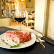 Fillet mignon steak at restaurant - Stockfoto