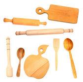 Wooden utensils — Stock Photo