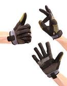 Gesturing hands in sport wear — Stock Photo