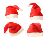 Santa hats — Stock Photo