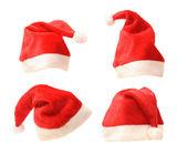 Santa hats — Stock Photo