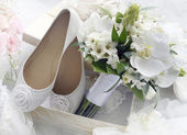 Bridal bouquet. — Foto de Stock