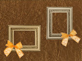 Two antique frames — Stock Photo