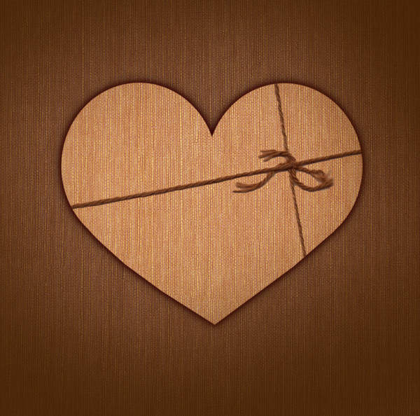 Heart in a gift. — Stock Photo #14207885