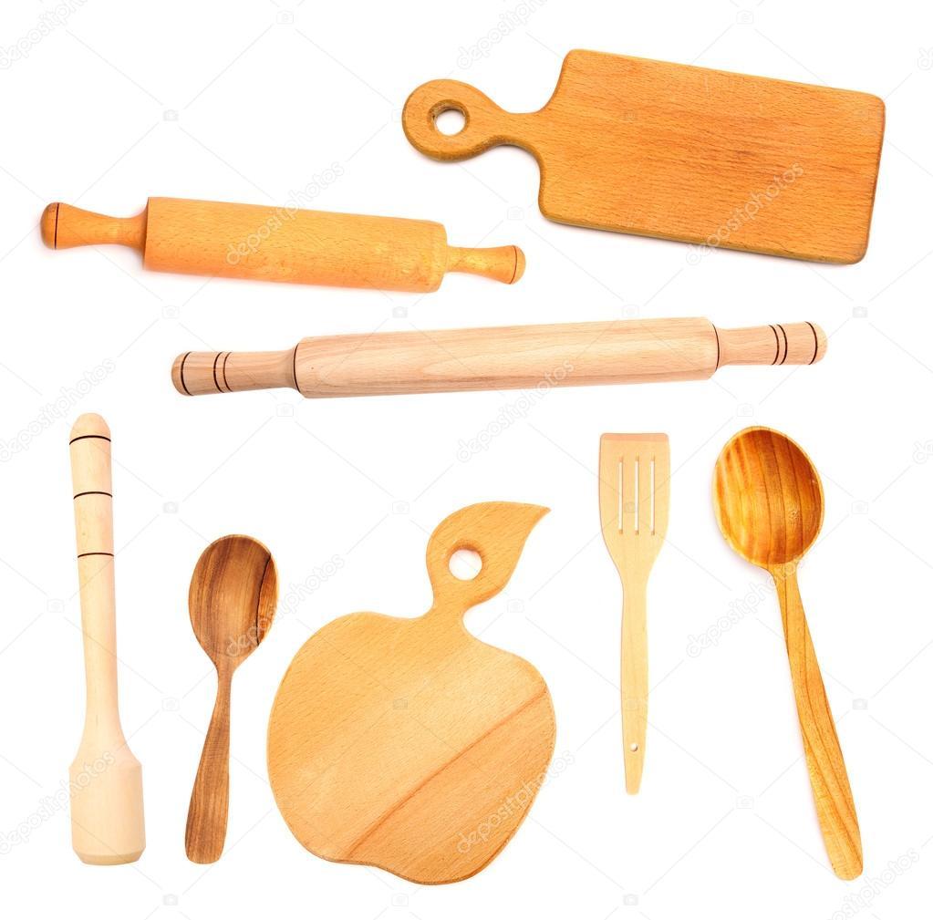 木制餐具 — 图库照片08slena#14201060