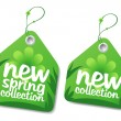 Spring collection labels. - 