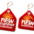 Summer collection labels. — Stock Vector #14204410