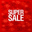 Store sale background. - Stockvektor