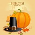 Thanksgiving Design template. — Stock Vector #14204547