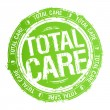 Total care stamp. - Stock Vector
