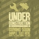 Under construction design. — Stock Vector #14204706