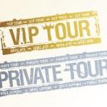 Частные марки VIP тур — Cтоковый вектор