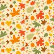 Autumn seamless background. — Stock Vector #14206398