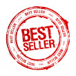 Stock Vector: Best seller stamp.