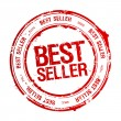 Best seller stamp. — Vettoriale Stock #14206571
