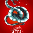 Royalty-Free Stock Vector Image: New Year card 2013.