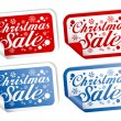 Christmas Sale stickers — Stock Vector #14206874