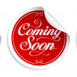 Coming soon stickers. — Stock Vector #14206926