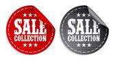 Sale collection stickers — Stockvektor