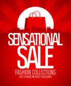 Sensational sale design. — Stock Vector