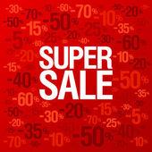 Butik försäljning bakgrund. — Stockvektor
