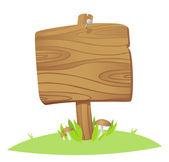 Wooden board — Stock Vector