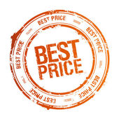 Best price stamp. — Stock Vector