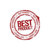 En iyi ürün lideri damgası — Stok Vektör