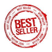 Best seller stamp. — Vector de stock
