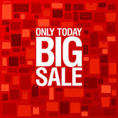 Big sale background. — Stock Vector