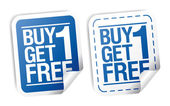 Promotionele verkoop stickers. — Stockvector