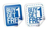 Promotionele verkoop stickers. — Stockvector