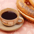 Coffee with a bagels — Foto de Stock