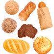 Stock Photo: Assorted bread