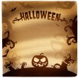 Halloween illustration with place for text - Stock Photo