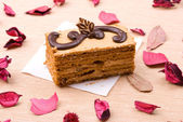 Biscuit cake — Stock Photo