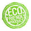 ストックベクタ: Eco friendly product stamp.