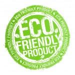 Eco friendly produkt stämpel — ストックベクタ