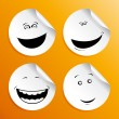 Set of smileys — Stock Vector #14210760