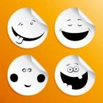 Set of smileys — Stock Vector #14210765