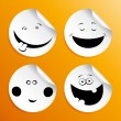 Set of smileys — Stock Vector #14210765