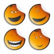 set of smileys — Stock Vector #14210766