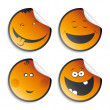 set of smileys — Stock Vector #14210767