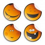 Set of smileys — Stock Vector #14210767