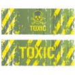 Stock Vector: Toxic backgrounds