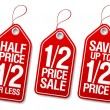 Promotional sale labels. — Stockvektor  #14211110