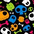 Halloween background. - Stockvectorbeeld