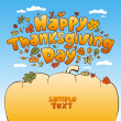 Stock Vector: Thanksgiving Day.