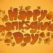 Thanksgiving Day. — Image vectorielle