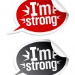 I am bestseller stickers. — Vettoriale Stock #14211311